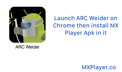 launch ARC welder on Chrome