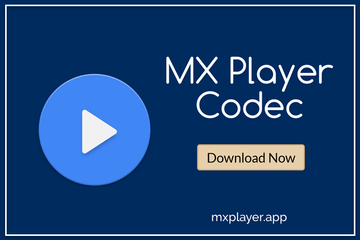 mx player codec